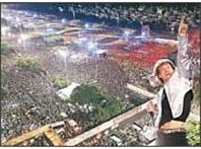 1.2 milyon kişilik konser